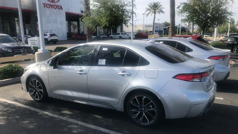 "Toyota presenta su gama  ""Sedan"""
