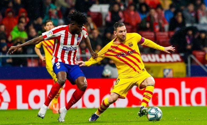 Messi le dio la victoria a Barcelona sobre el Atlético de Simeone