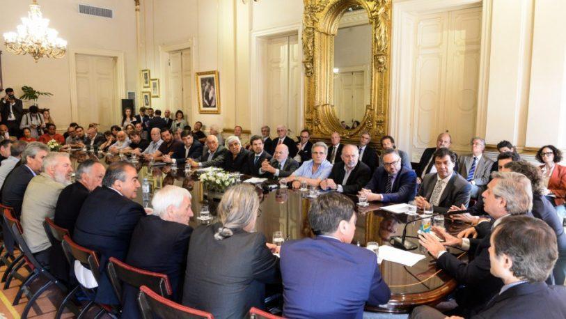 """Organizaciones de piqueteros K, se sumaron al """"Pacto Social"""""""