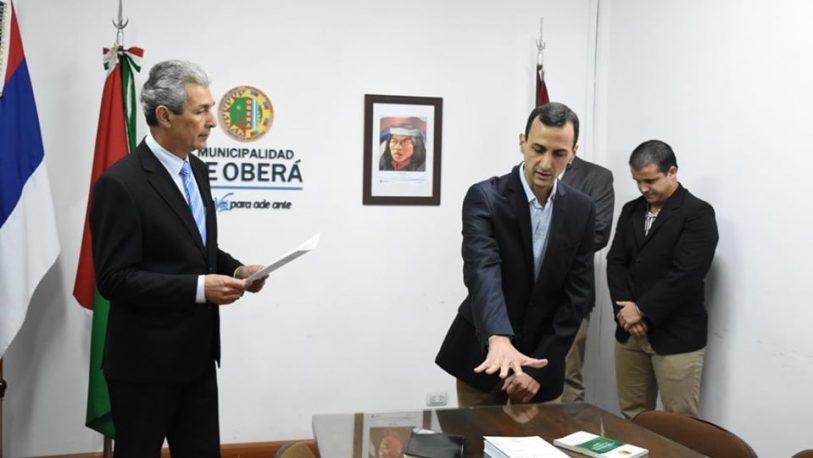 Nepotismo en Oberá: Fernández nombró a su hijo como secretario municipal