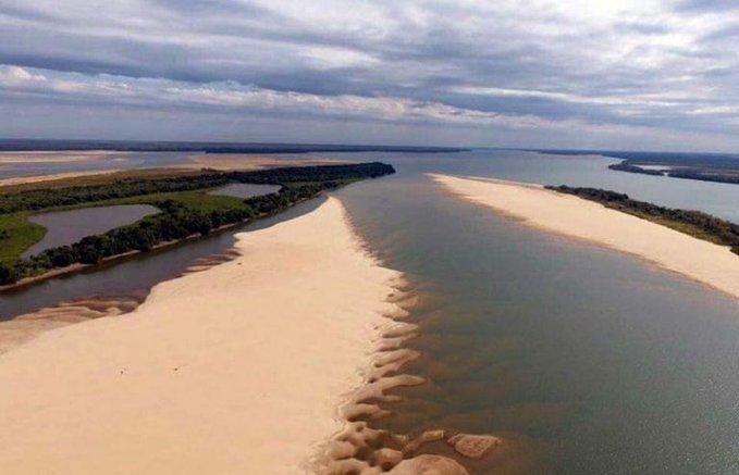 Bajante de ríos: puertos misioneros trabajan normalmente