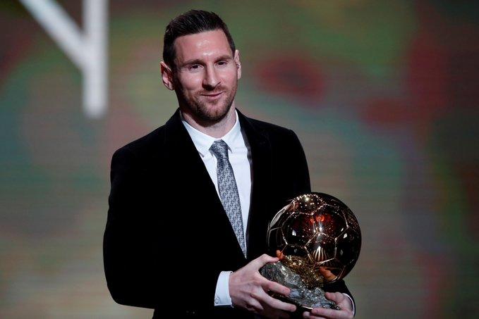 Balón de Oro: Messi se convierte en el máximo ganador de la historia