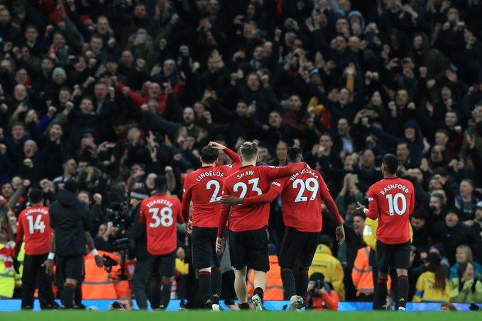 Manchester City cayó en el clásico ante Manchester United