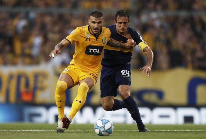 Boca no pudo con Rosario Central en el Gigante de Arroyito