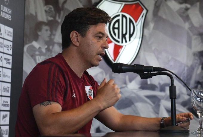 """Gallardo: """"Mi año empieza en River, nunca tuve duda de mi continuidad"""""""