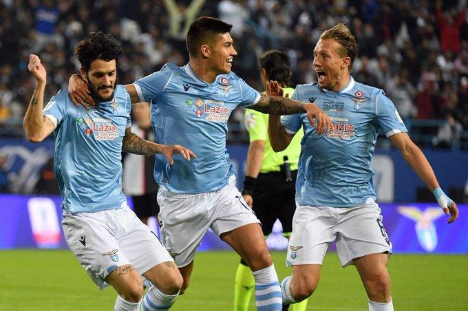 Lazio campeón de la Supercopa de Italia