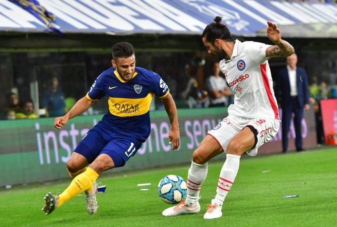 Boca no pudo con Argentinos en La Bombonera