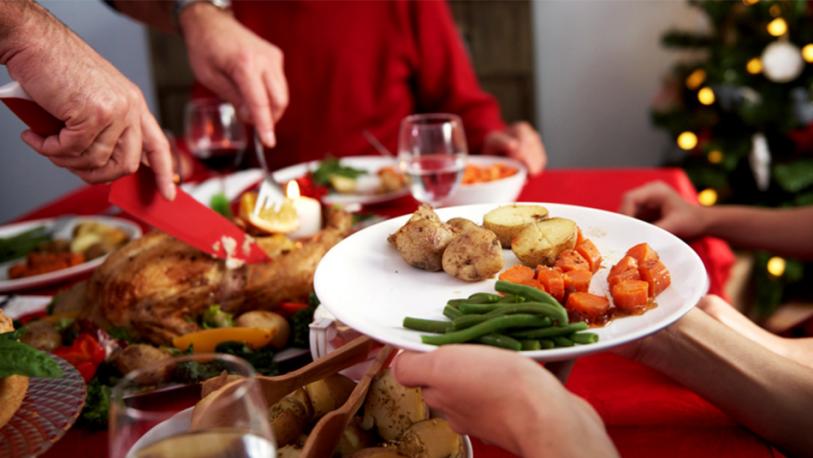 Alimentación saludable en las fiestas: recomiendan planificar el menú