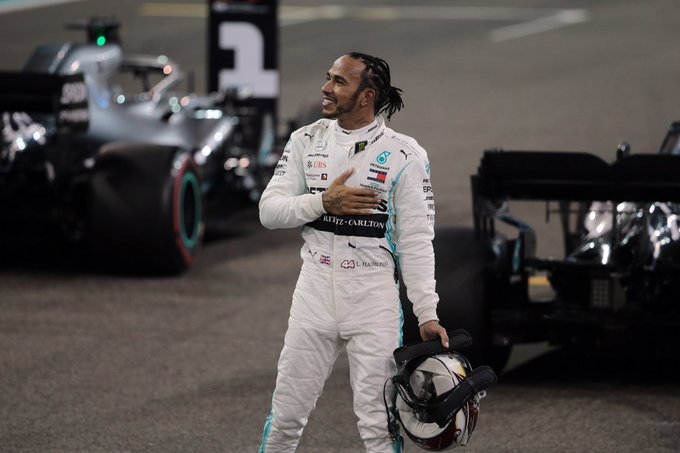 Hamilton se impuso en el cierre de la F1 en Abu Dhabi