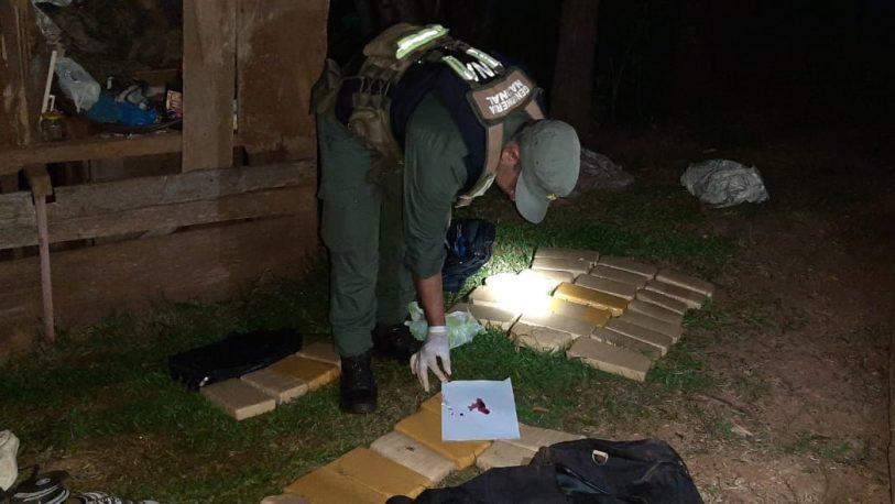 Incautan más de 57 kilos de marihuana en San Antonio y Posadas
