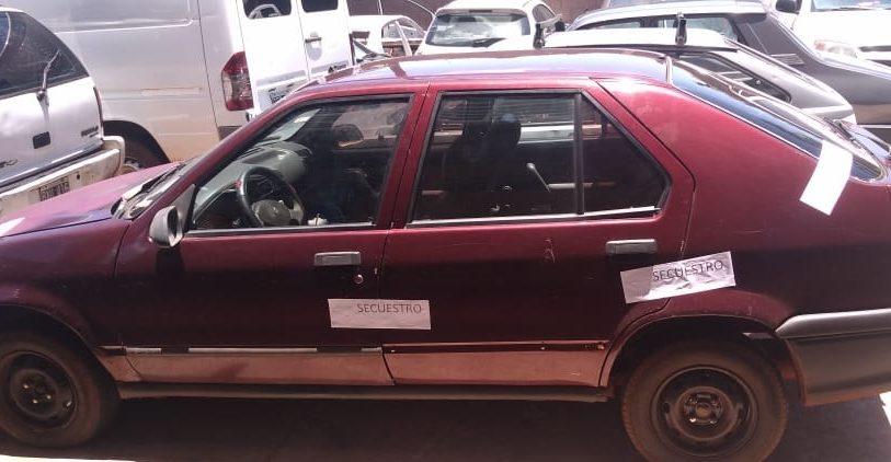 Verificadores de la Policía secuestraron un auto adulterado