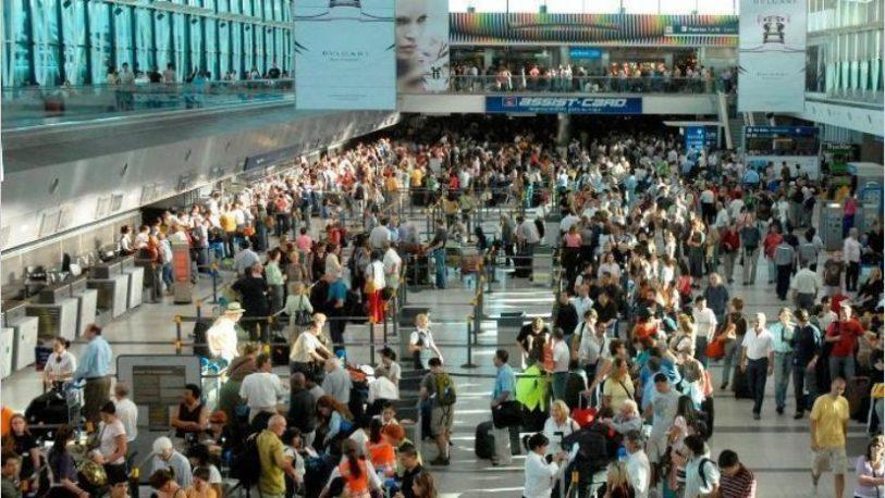Vuelos cancelados en Aeroparque y Ezeiza por paro