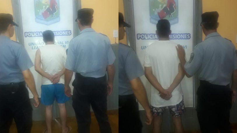 Padre e hijo detenidos por realizar maniobras peligrosas y chocar