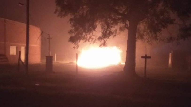 Familia perdió todo tras el incendio de su vivienda