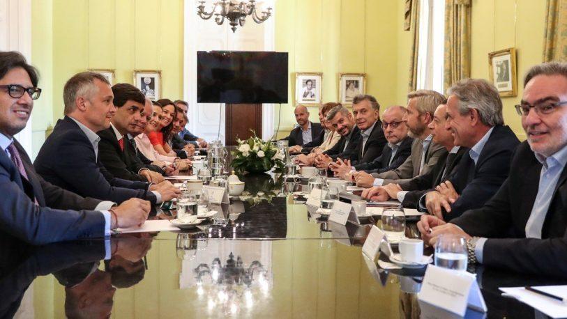 """Macri en su última reunión de gabinete: """"Es un lunes muy especial"""""""