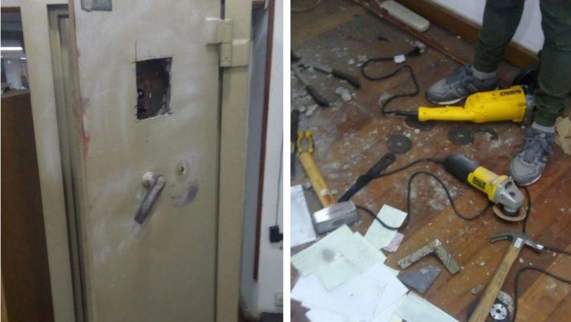 Millonario robo a una empresa constructora en San Vicente