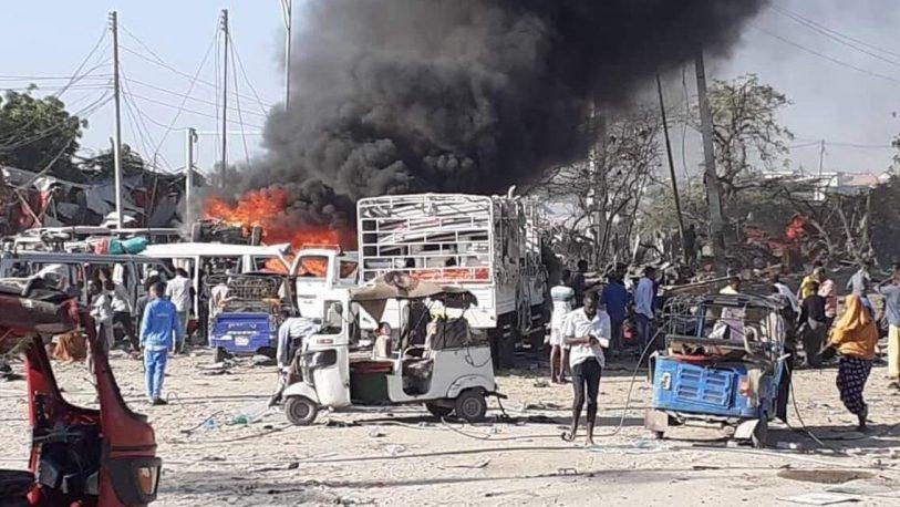Atentado en Somalia dejó 94 muertos