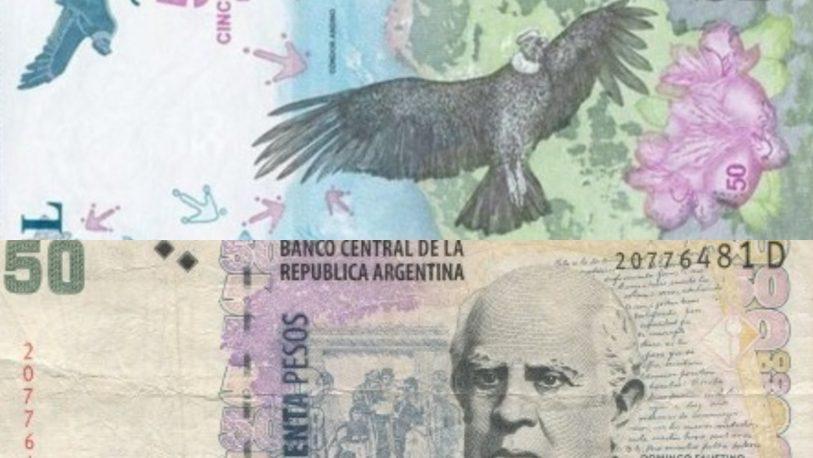 En junio vuelven los billetes con figuras de próceres argentinos