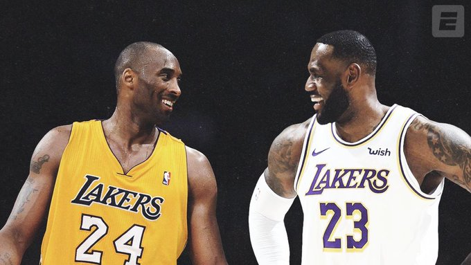 LeBron James desconsolado por la muerte de Kobe Bryant
