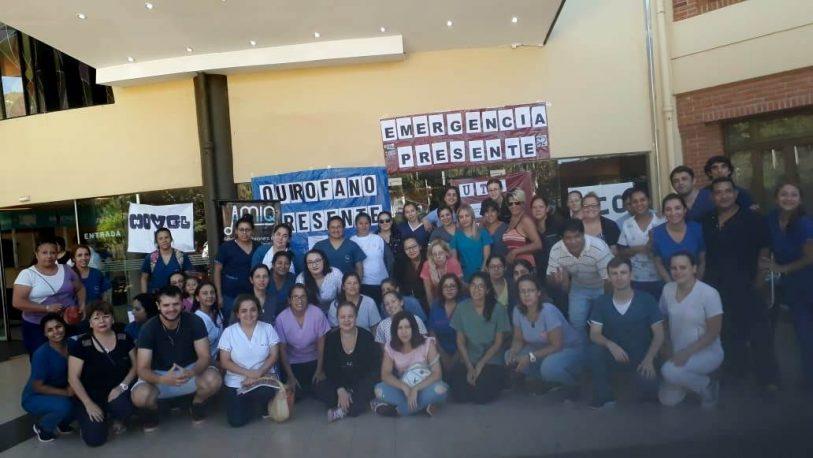 Enfermeros del Madariaga, acataron la conciliación obligatoria