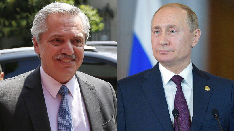 Putin canceló la reunión prevista con Alberto Fernández