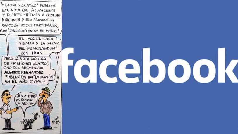 El papelón de los K en el Facebook de MisionesCuatro