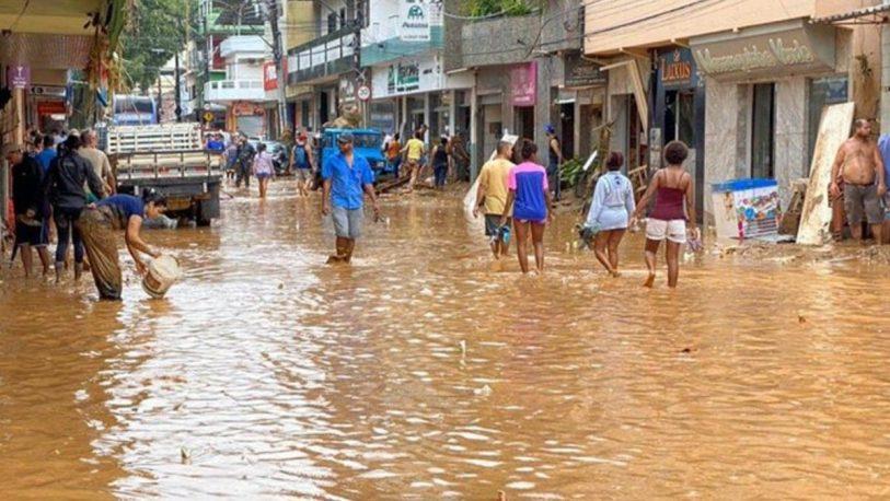 Al menos 30 muertos por un temporal en el sudeste de Brasil