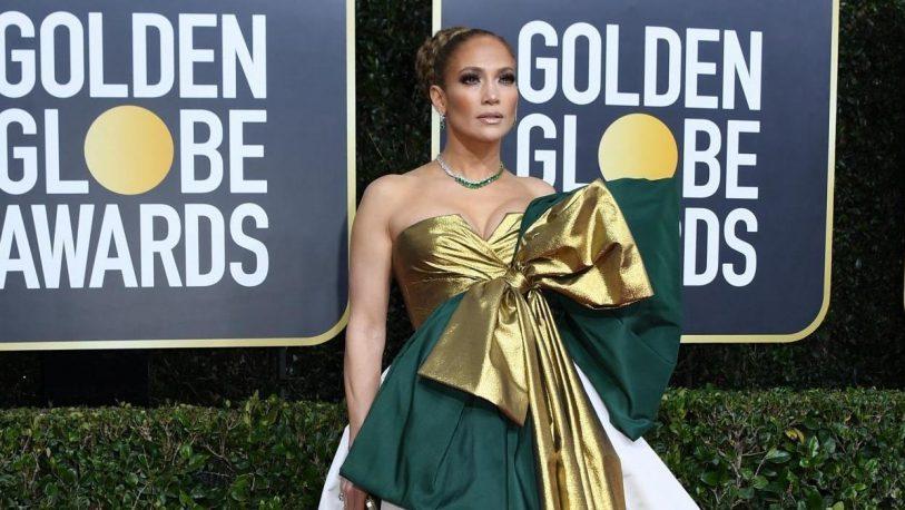 Golden Globes: JLo, víctima de burlas en redes sociales