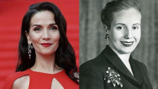Natalia Oreiro interpretará a Eva Perón en una serie que producirá Disney
