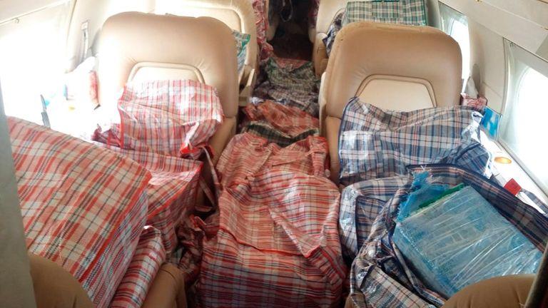 México: incautaron 1.000 kilos de cocaína en un avión proveniente de Argentina