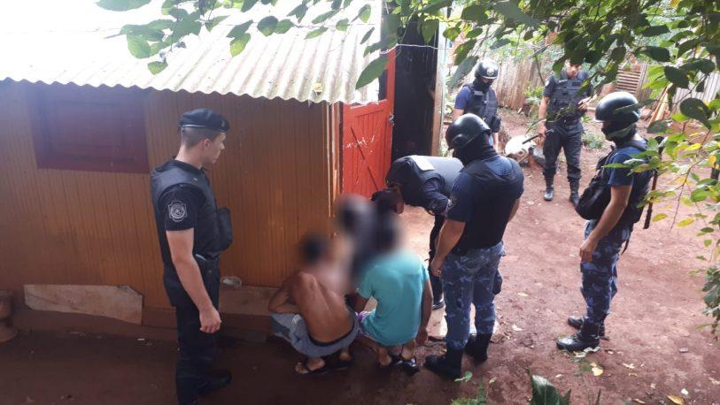 Allanaron un kiosco narco en Oberá