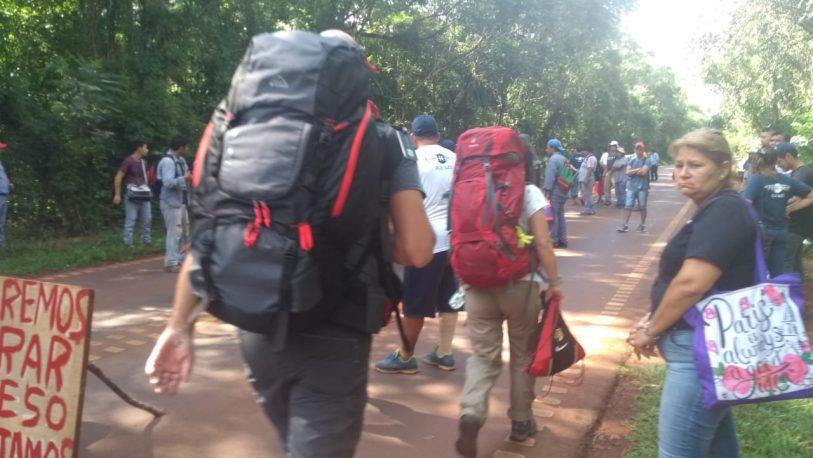 Cerraron el ingreso al aeropuerto de Iguazú