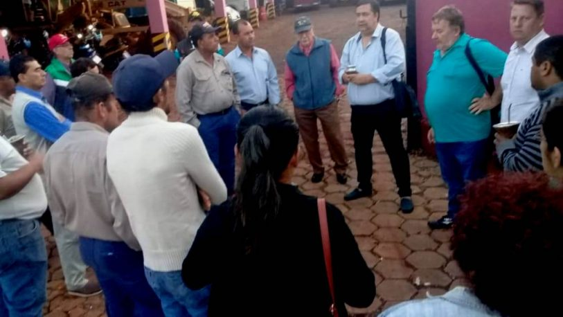 San Javier: ATE insiste en la reincorporación de 17 municipales cesanteados