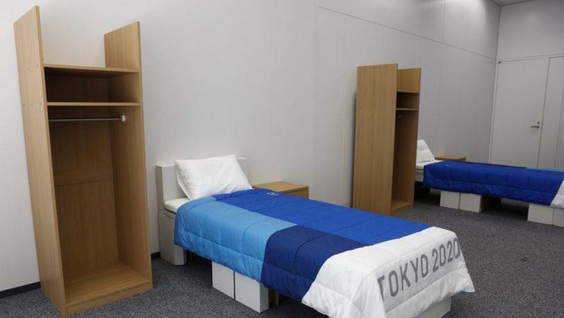 Juegos Olímpicos 2020: las camas estarán hechas de cartón