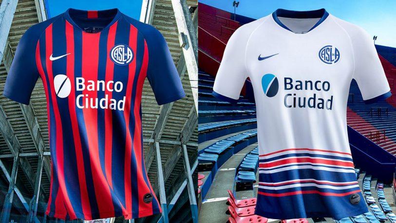 Polémica por la nueva camiseta de San Lorenzo