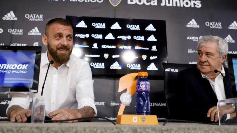 De Rossi confirmó que se va de Boca y se retira del futbol
