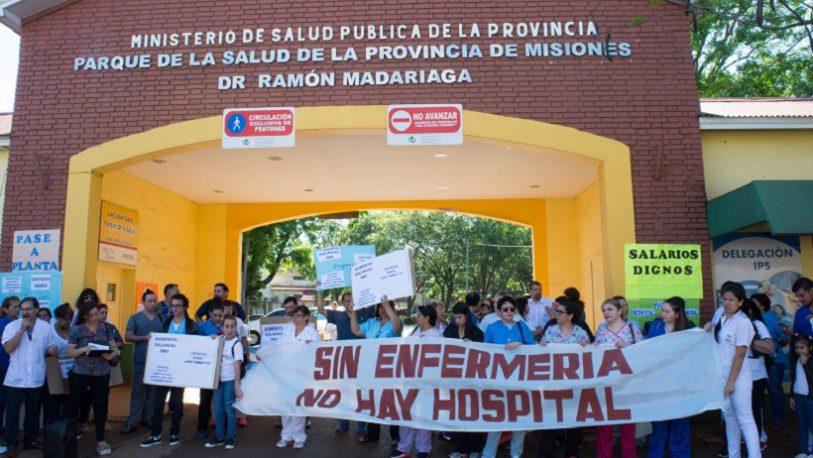 Enfermeros anuncian paro por tiempo indeterminado en el Madariaga