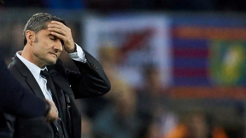 Barcelona despide a Ernesto Valverde como director técnico