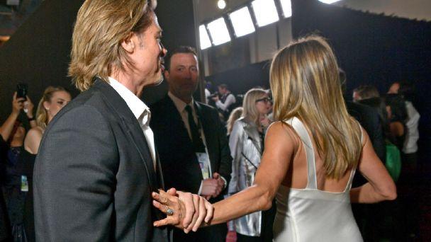Jennifer Aniston y Brad Pitt fueron tendencia en los SAG Awards