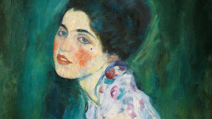Jardineros encontraron por casualidad un cuadro robado de Gustav Klimt