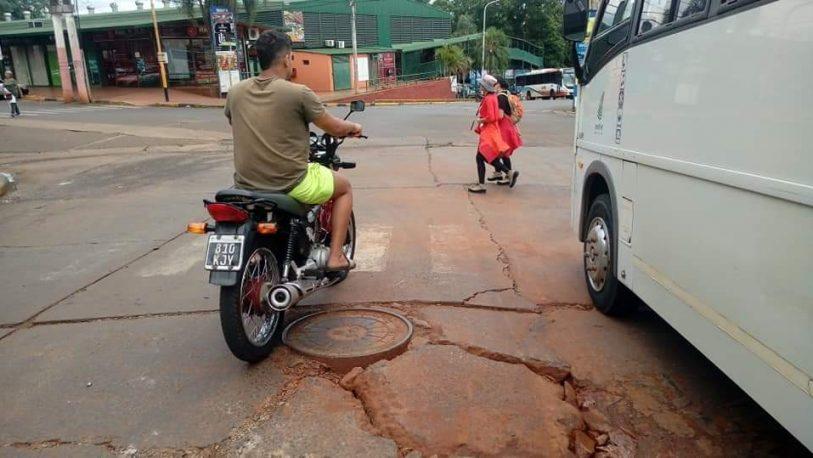 """Iguazú en muy mal estado: """"se debe a la corrupción que hay en la ciudad"""", dijo Gularte"""