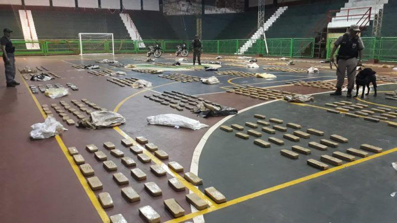 Puerto Libertad: secuestraron más de 860 kilos de marihuana