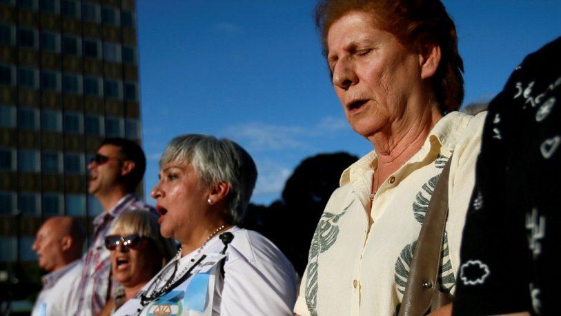 """""""¡A Alberto Nisman lo mataron!"""", fue el grito en la marcha homenaje"""