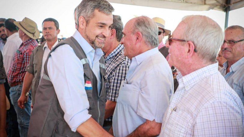 Confirman que el presidente de Paraguay tiene dengue