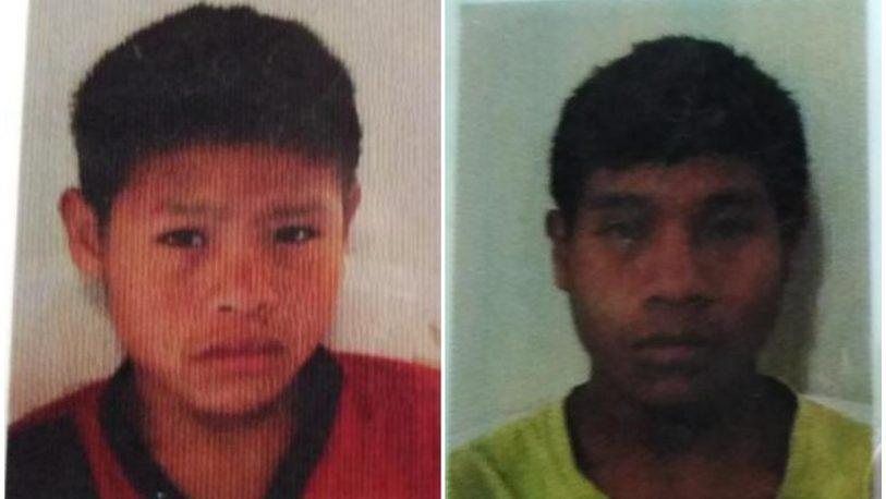 Buscan a otros dos jóvenes mbyás desaparecidos