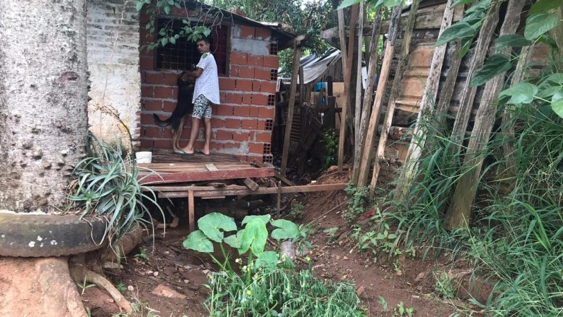 El barrio Santa Cecilia necesita urgente obras de entubamiento
