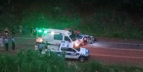 Dos mujeres fallecieron en un siniestro en la Ruta 14