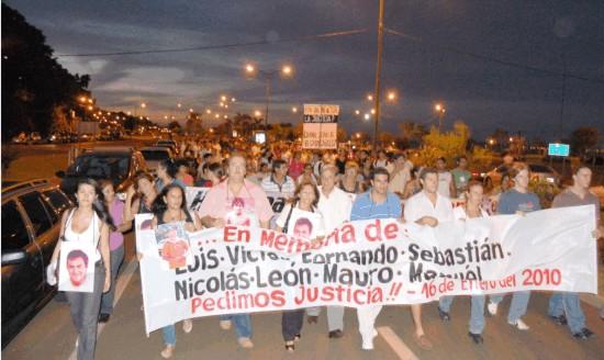 Se cumplieron 10 años de la tragedia del Paraná