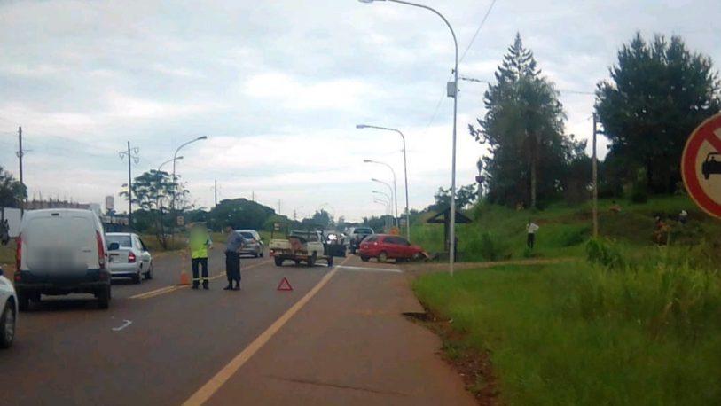 Siniestro vial en la ruta 14 dejó como saldo tres personas hospitalizadas