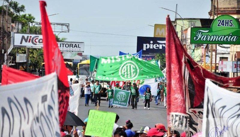 """""""La situación nos empuja a protestar en la calle"""", alertan desde ATE"""